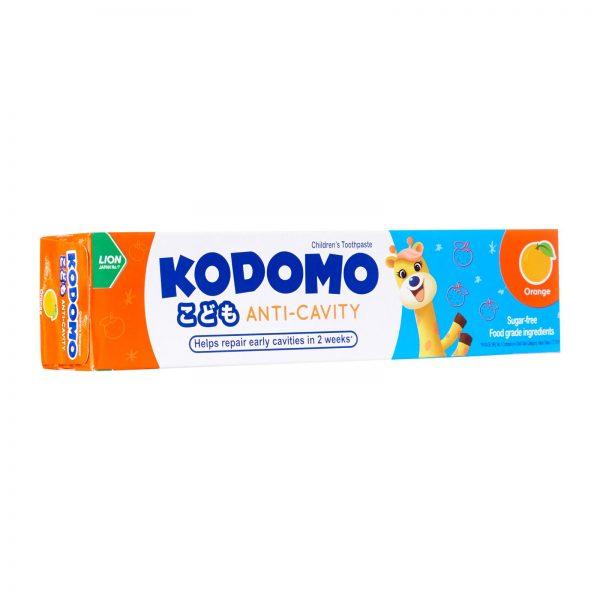 KODOMO Anti-Cavity Orange 80g – detská zubná pasta