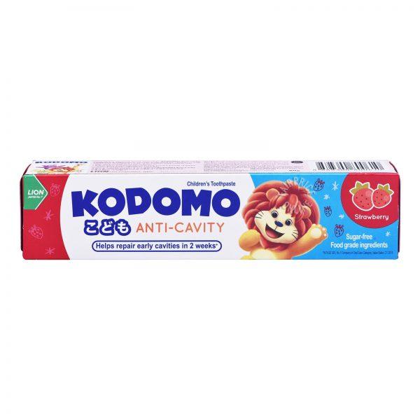 KODOMO Anti-Cavity Strawberry 80g – detská zubná pasta